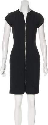 L'Agence Sleeveless Sheath Dress