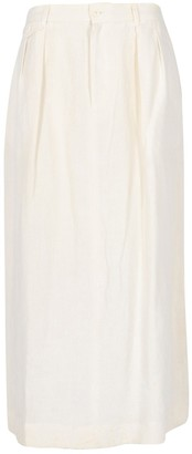 Ralph Lauren White Linen Skirts