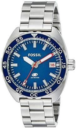 Fossil Men's FS5048 Breaker Stainless Steel Bracelet Watch