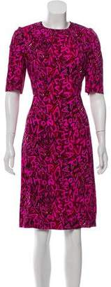 Louis Vuitton Graffiti Sheath Dress