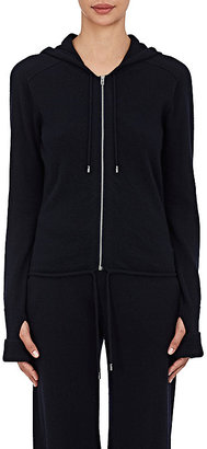Helmut Lang Women's Cashmere Hoodie Sweater $595 thestylecure.com