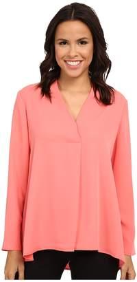 Nic+Zoe Majestic Matte Shirt Women's Long Sleeve Pullover