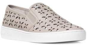 MICHAEL MICHAEL KORS Keaton Floral-Cutout Slip-On Shoes $120 thestylecure.com