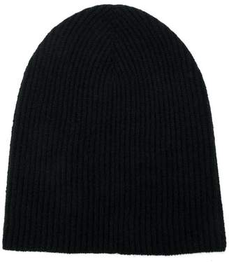 Roberto Collina cashmere knitted beanie