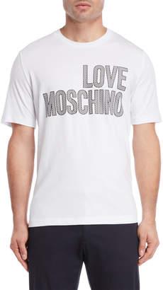 Love Moschino Chain Logo Tee