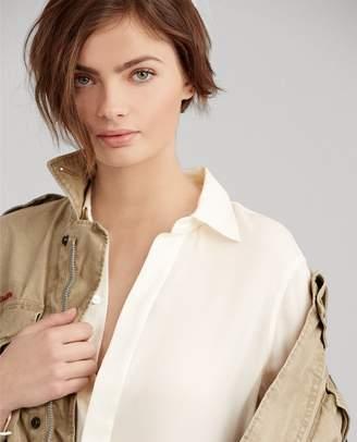 Ralph Lauren Silk Georgette Blouse