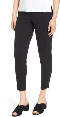 Ming Wang Ponte Knit Crop Pants