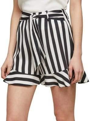 Miss Selfridge Bold Stripe Shorts