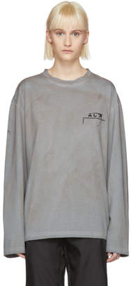 A-Cold-Wall* Grey Long Sleeve 17 Leavers T-Shirt