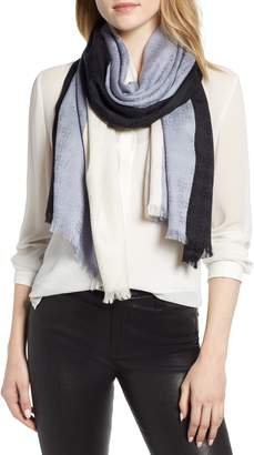 Tory Burch Colorblock Traveler Wool & Silk Scarf