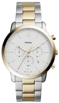 Fossil Women's Two-Tone Bracelet Watch, 30mm