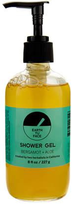 Earth Tu Face Bergamot & Aloe Shower Gel