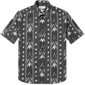 Saint Laurent Ikat Short Sleeve Shirt