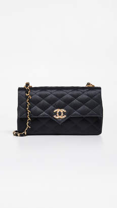 Chanel What Goes Around Comes Around Crystal Point Small Flap Bag