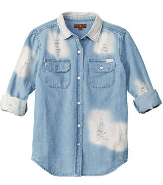 7 For All Mankind Seven Denim Top