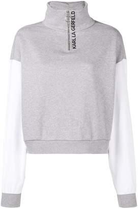 Karl Lagerfeld logo pullover