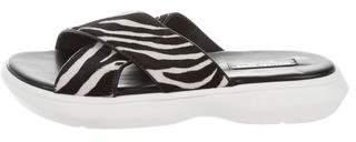 Michael Kors Crossover Printed Sandals