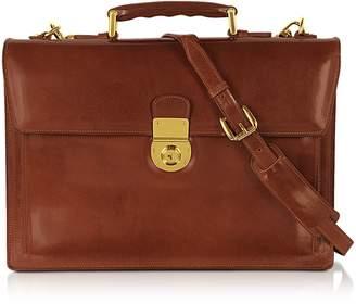 L.a.p.a. Classic Cognac Leather Briefcase