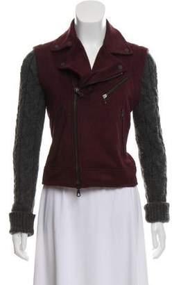 Rag & Bone Wool Zip-Up Jacket