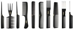 Annie Professional Comb Set 10Ct Black $5.49 thestylecure.com
