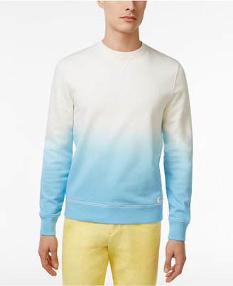Tommy Hilfiger Men's Colorblocked Ombré French Terry Pullover $89.50 thestylecure.com