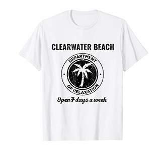 Vintage Clearwater Beach Shirt. Ocean Tshirt Women Men Kids.
