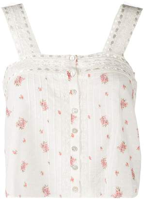 LoveShackFancy Love Shack Fancy Daisy tank top