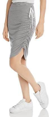 Splendid Alto Striped Drawstring Skirt