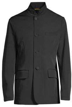 Canali Buckle Collar Sport Jacket