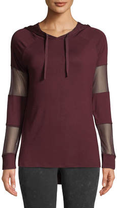 Marc Ny Performance Mesh Cutout Hooded Sweatshirt