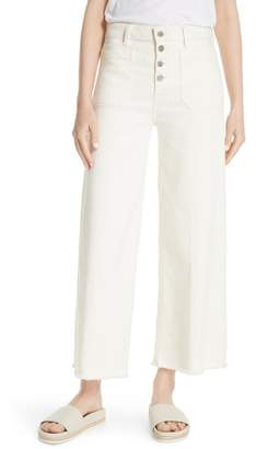 Elizabeth and James Carmine Wide Leg Crop Jeans