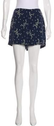 Equipment Silk High-Rise Shorts w/ Tags