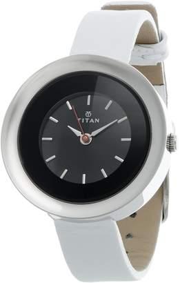 Titan Youth Analog Black Dial Women's Watch - 2482SL03
