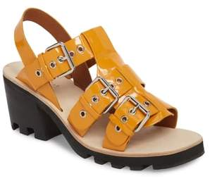 Jeffrey Campbell Riveter Lugged Buckle Sandal