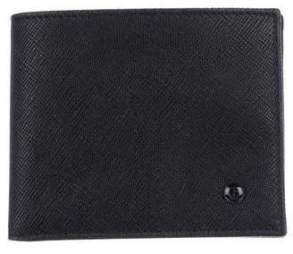 Giorgio Armani Logo-Accented Leather Bifold Wallet