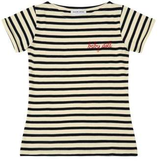Sale - Baby Doll Embroidered Mariniére T-Shirt - Women's Collection - Maison Labiche