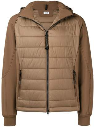C.P. Company goggle hooded padded jacket