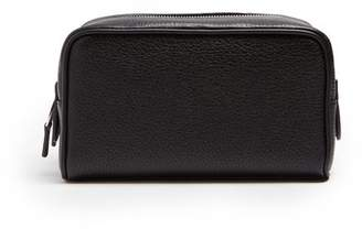 Smythson Burlington Small Washbag - Mens - Black