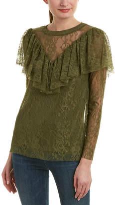 Kensie Lace Top