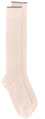 Brunello Cucinelli long length socks