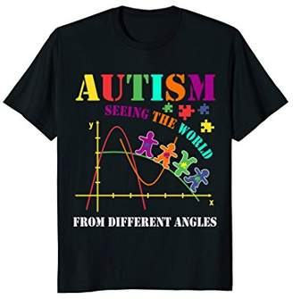 Autism Awareness Shirt Seeing World From Different Angles