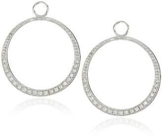 "KC Designs Charmed Life"" Diamond 14k Gold Circle Ear Charm"
