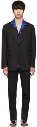 Dries Van Noten Black Keagan Suit