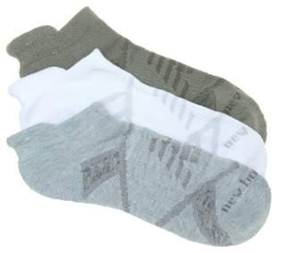 New Balance Tab Women's No Show Socks - 3 Pack