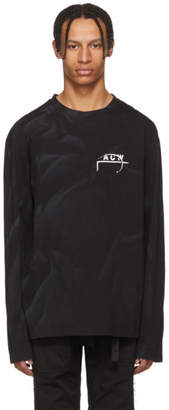 A-Cold-Wall* A Cold Wall* Black Long Sleeve 17 Leavers T-Shirt