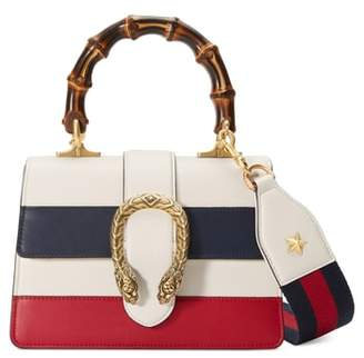 Gucci Mini Dionysus Leather Top Handle Satchel