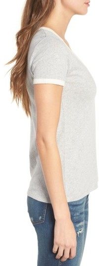 Women's Madewell Recycled Cotton Ringer Tee 4