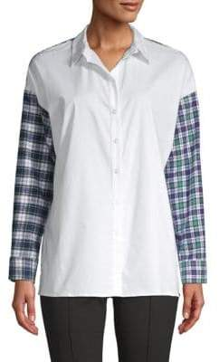 Supply & Demand Hunter Contrast-Panel Shirt