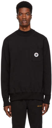 Leon Aime Dore Black Pocket Sweatshirt