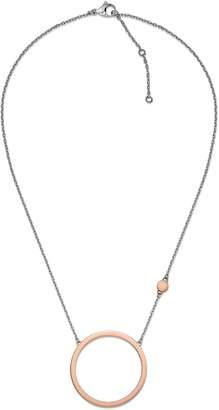 Tommy Hilfiger Rose Gold Crystal Necklace